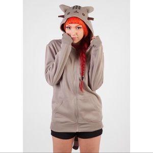 Pusheen zip up hoodie